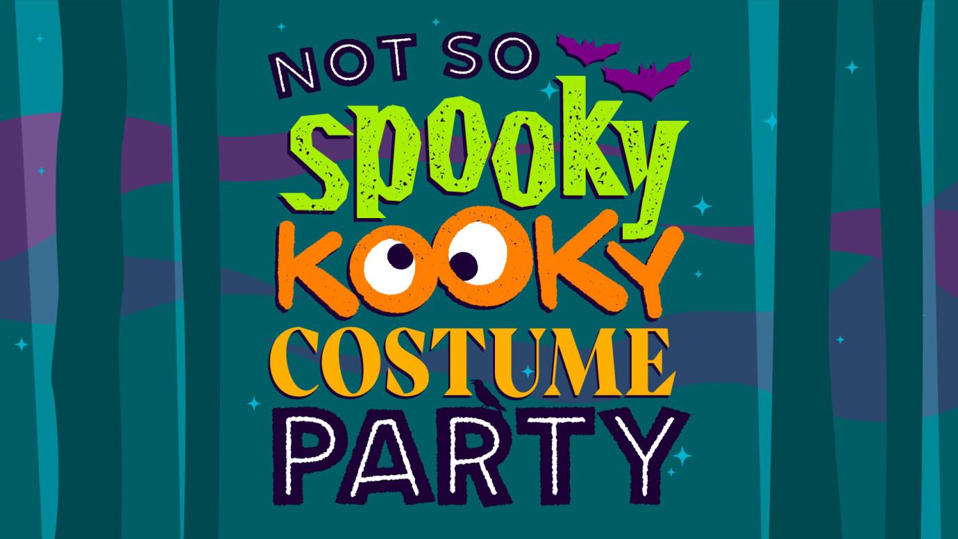 Not So Spooky Kooky Costume Party